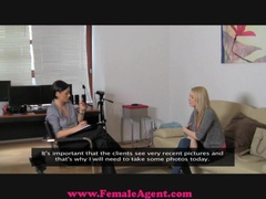 Female Agent Big breast casting