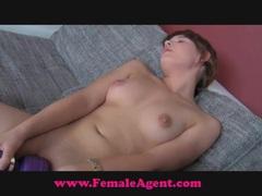 Female Agent. Shy hippie tastes pussy