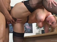 Luscious Bethany Sweet loves getting her pussy hammered