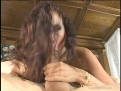 Gianna Michaels loves slurping on this stiff skin flute