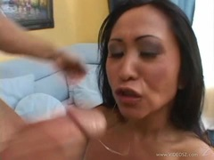 Sumptuous Kitty Langdon gets her moist mouth hammered