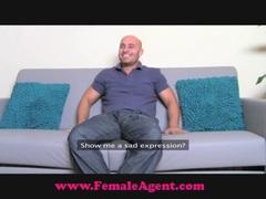 Female Agent Big cock casting