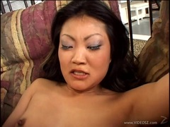 Horny Lucy Lee takes this hard dick deep in her hot ass