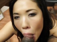 London Keys gives a hot POV cock sucking
