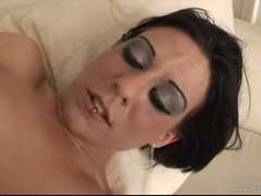 Racy Amber Wild loves getting her hot pussy pulverized