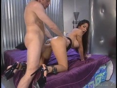 Jenaveve Jolie takes this big cock deep in her wet slot