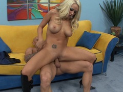 Sexy Brandy Blair loves getting her wet pussy hammered