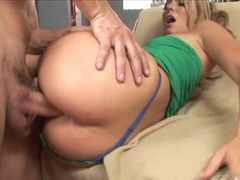 Holly West loves getting her moist pussy pummelled
