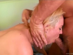 Victoria White takes this hard dick down her throat