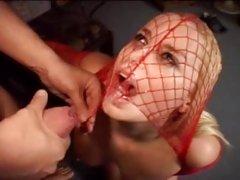 Rough ass fucking for sex slave Alicia Rhodes