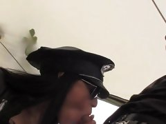 Horny cop Samantha Pink gets it on with her workmate