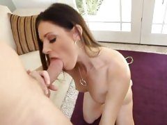 Hot MILF fuck with sexy brunette MILF