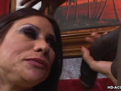 Sheila Marie is analled by a big black cock