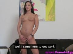 Female Agent HD Milf loves an incredible ass
