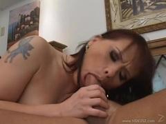 Katja Kassin spreads her lips round this stiff shaft