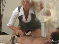 MOMxx MILF with big tits has multiple orgasms