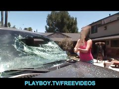 Pissed off ex is punished for smashing her mans car