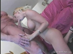 Seductive Faith Grant gets her slippery throat slammed