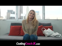 CastingCouchX Amazing Natural Boobs Natalia Starr