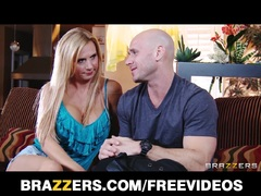 Thick MILF Brooke Tyler helps a man get revenge on ex