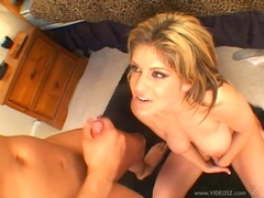 Tyla Wynn gets her face drizzled with thick dick juice