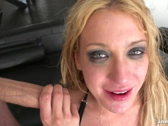 LiveGonzo Amy Brooke Sexy DP Blonde