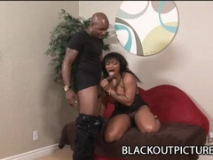 Big ass ebony Janet Jacme gets her pussy fucked