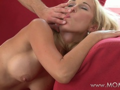 Hot MOM Working MILF fucks her client