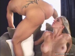 Roxanne Hall enjoys getting her wet pussy pummelled