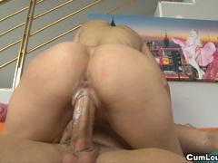 Slut Latina Carol Vega gets her pussy fucked