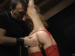 Sensitive Bdsm sex Game in hot lingerie