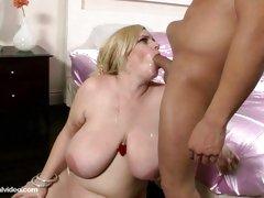Pregnant Pornstar Tiffany Blake Gets Fucked By 2 dicks