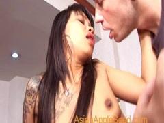 Asian honey rodeos cock