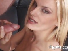Blonde MILF is hungry for a cock