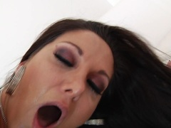Gorgeous Ava Addams enjoys a hard double penetration