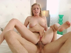 Penny Pax bounces her tight asshole on this hard dick