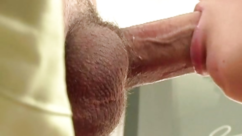 dani woodward mouth fucks this hard throbbing cock 4tube