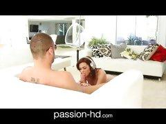 Passion HD Teen girl Kiera Winters gets creampie