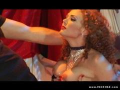 Tempting Audrey Hollander devours this stiff cock