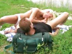 Sex lakeside session