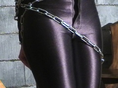 Chained and bound beauty