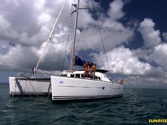 High seas threesome sex