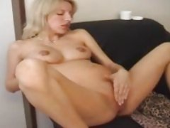 Pregnant masturbation session