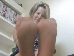 Some fine foot fetish
