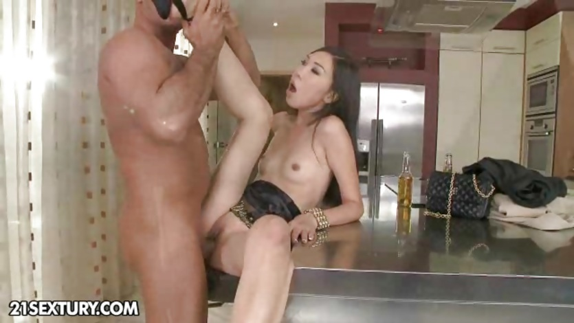 Tight moist Asian cunt