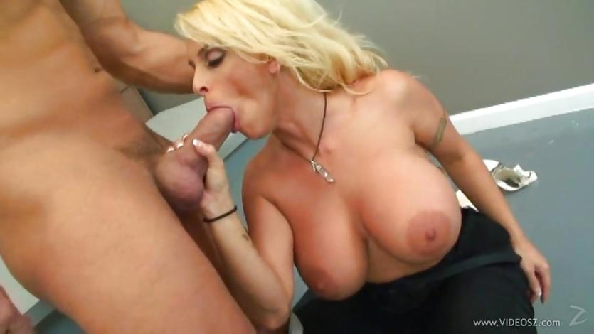 Racy Holly Halston loves slurping on this stiff cock