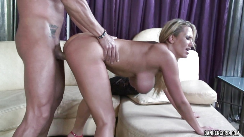 Alanah Rae takes this hard dick deep in her moist pussy