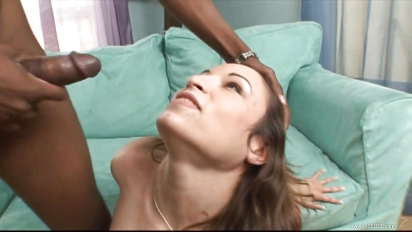 Amber Rayne gets her face plastered with warm jizz