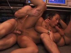 Threesome in the studio