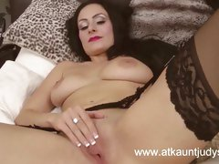 Sophia Delane is naughty in her lingerie